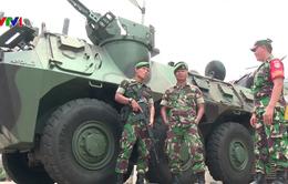 Indonesia giảm nhập khẩu vũ khí