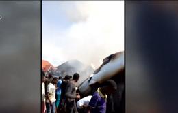 Rơi máy bay tại CHDC Congo, ít nhất 18 người thiệt mạng