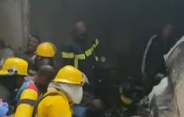 Vụ rơi máy bay tại CHDC Congo: Số thương vong tăng cao
