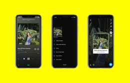 Tidal cập nhật tùy chọn chia sẻ nhạc trực tiếp qua Snapchat