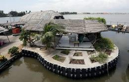 Làm từ 700.000 chai nhựa, đảo nhân tạo hút khách du lịch