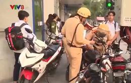 Cần chấn chỉnh tình trạng học sinh đi xe máy phân khối lớn