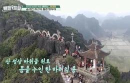 Hang Múa và động Thiên Hà gây ấn tượng mạnh trên sóng truyền hình Hàn