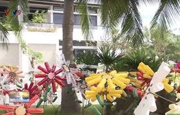 Nha Trang: Khu vườn đặc biệt làm từ rác thải nhựa