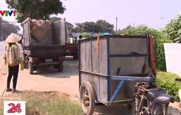Muôn nỗi lo sau chuyển đổi phương tiện thu gom rác