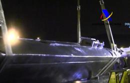 Lần đầu tiên bắt giữ tàu ngầm chở lậu 3 tấn ma túy vào châu Âu