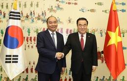 Thủ tướng hội kiến Chủ tịch Quốc hội Hàn Quốc