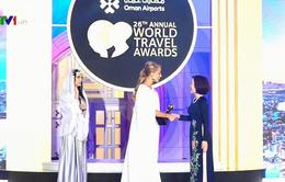 Việt Nam bội thu Giải thưởng du lịch thế giới 2019