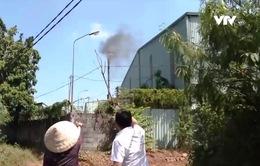 Nhà máy xử lý rác thải nghi gây ô nhiễm môi trường