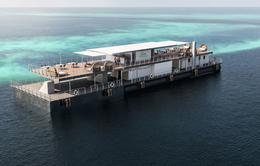 Ngắm nhìn khách sạn dưới nước đầu tiên của Úc
