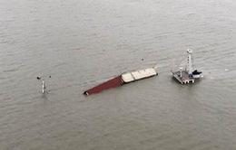 Tàu chở hàng Taobao chìm ngoài khơi