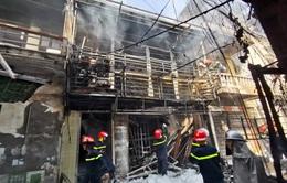 Hà Nội: Nổ bình gas gây cháy lớn tại phố Bùi Ngọc Dương
