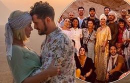 Katy Perry đón sinh nhật tuổi 35 xa xỉ cùng Orlando Bloom tại Ai Cập