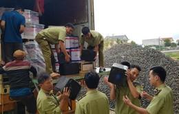 Quảng Bình: Bắt vụ vận chuyển hơn 3.100 chai rượu ngoại không có hóa đơn chứng từ