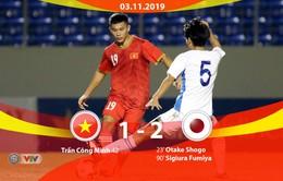 VIDEO Highlights: U21 Việt Nam 1-2 Sinh viên Nhật Bản (Giải U21 Quốc tế 2019)