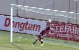 VIDEO: Pha cản phá ngoạn mục của thủ môn Dương Tùng Lâm tại giải U21 Quốc tế 2019