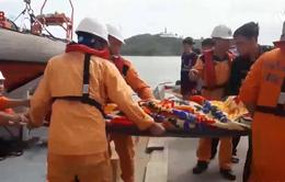 Cứu nạn thuyền viên tàu Toàn Phát 68 bị chìm ở vùng biển Qui Nhơn