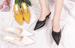 Vì sao giày mũi nhọn không bao giờ lỗi mốt?