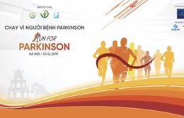 Sáng nay (1/12): Hàng nghìn người tham gia Giải chạy vì bệnh nhân Parkinson