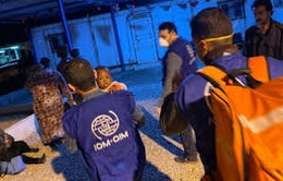 Vấn đề người di cư: Hải quân Libya cứu hơn 200 người di cư trên biển