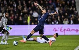 Icardi và Di Maria ghi bàn giúp PSG vững ngôi đầu bảng Ligue 1
