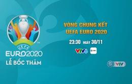 Lễ bốc thăm VCK UEFA EURO 2020 (23:30 ngày 30/11, trực tiếp trên VTV6)