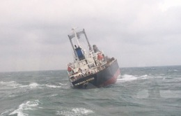 Tàu Thái Lan chìm trên biển Hà Tĩnh có dấu hiệu tràn dầu