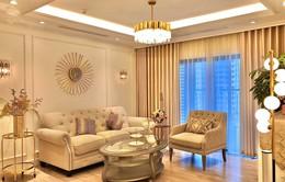Ngắm căn hộ ấm cúng, ngập tràn sắc vàng của BTV Diệp Chi