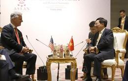 Phó Thủ tướng Phạm Bình Minh tiếp Cố vấn an ninh quốc gia Mỹ Robert O'Brien