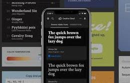 iPhone được cập nhật hàng nghìn phông chữ mới