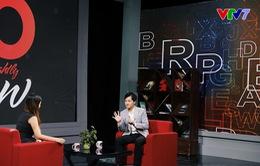 """MC """"quốc dân"""" Trần Ngọc lần đầu thể hiện khả năng nói tiếng Anh siêu dễ thương trên sóng truyền hình"""