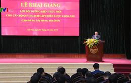 Khai giảng Lớp bồi dưỡng cán bộ quy hoạch cấp chiến lược khóa XIII