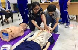 TP.HCM: Nâng cao kỹ năng cấp cứu ngoại viện cho bác sĩ tại 31 trạm vệ tinh