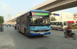 Mạng lưới xe bus Hà Nội phủ khắp 78% số xã, phường, thị trấn