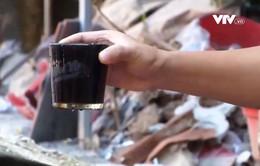 Hàng trăm hộ dân sống chung nước ngầm ô nhiễm