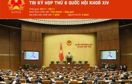 [Infographic] 4 nhóm vấn đề chính của phiên chất vấn tại kỳ họp thứ 8 Quốc hội khóa XIV