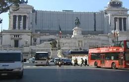 Xe diesel Euro 3 không được lưu thông vào trung tâm Thủ đô Rome, Italy
