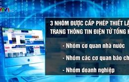 Siết chặt quản lý trang thông tin điện tử tổng hợp