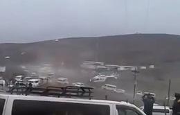 Trực thăng chở Tổng thống Bolivia hạ cánh khẩn cấp