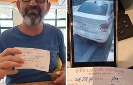 Phạt nặng taxi ''chặt chém'' giá cước 10 lần với khách Tây