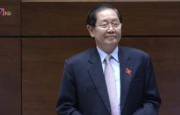 Bộ trưởng Bộ Nội vụ trả lời chất vấn trước Quốc hội