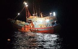 Ứng cứu kịp thời ngư dân gặp nạn tại quần đảo Hoàng Sa trước bão số 6