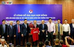 Ký hợp đồng mới, VFF và HLV Park Hang Seo đặt mục tiêu hướng tới World Cup 2026