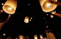 Lung linh lễ hội ánh sáng tại Myanmar