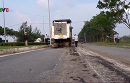 Đà Nẵng nhanh chóng sửa chữa đường sống trâu gây mất an toàn giao thông