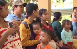 Quảng Ngãi: Khó khăn trong tiêm chủng tại khu vực miền núi