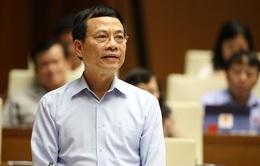Hôm nay (8/11), Quốc hội chất vấn Bộ trưởng Bộ Thông tin - Truyền thông Nguyễn Mạnh Hùng