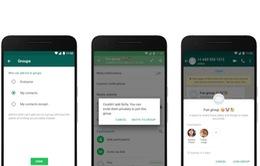 WhatsApp thay đổi cài đặt quyền riêng tư trên Android