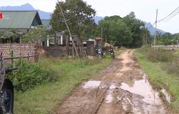 Phú Thọ: Khu tái định cư cho các hộ dân mất nhà trong lũ bị... bỏ quên