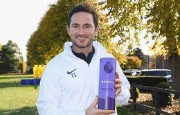 Frank Lampard lần đầu nhận giải HLV hay nhất tháng